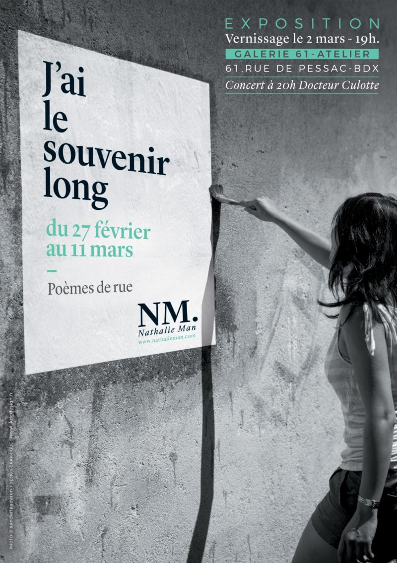 NM exposition J'ai le souvenir long 2 affiche