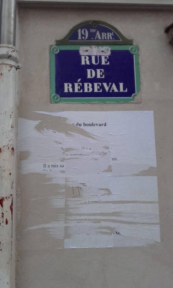 le monsieur du boulevard saint martin, poésie, nathalie man, belleville