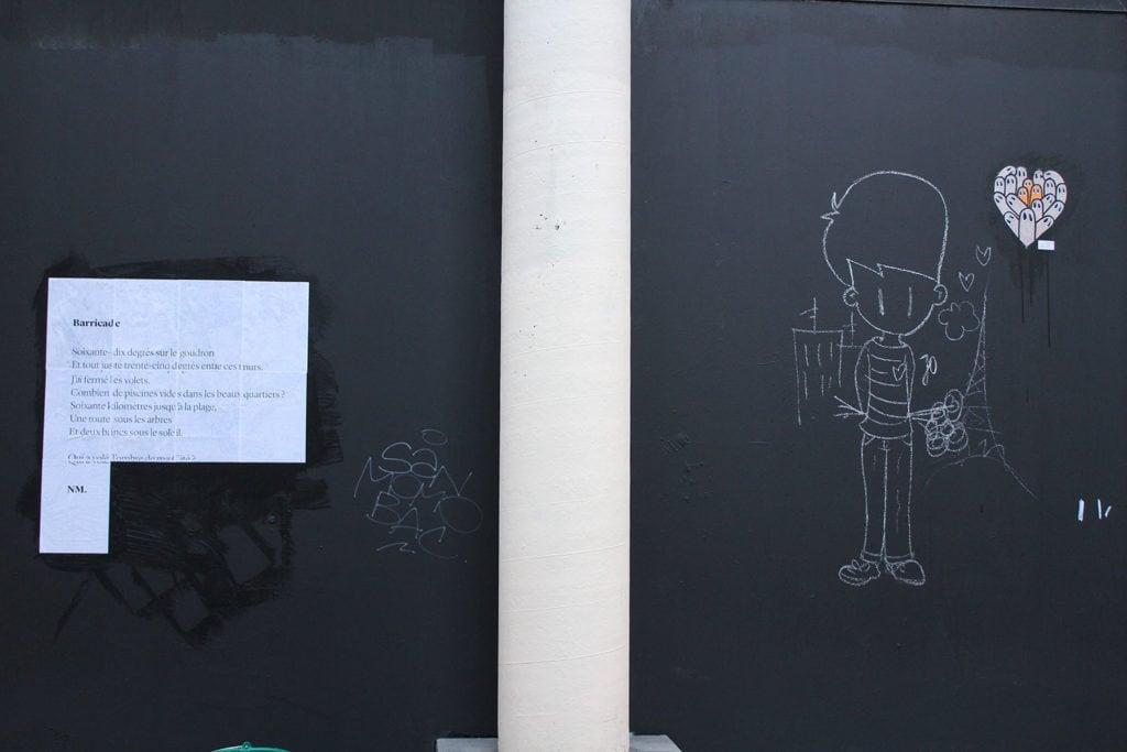 barricade, lille, poésie, nathalie man