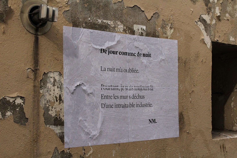 rue feuillantines, paris, de jour comme de nuit, poésie, nathalie man