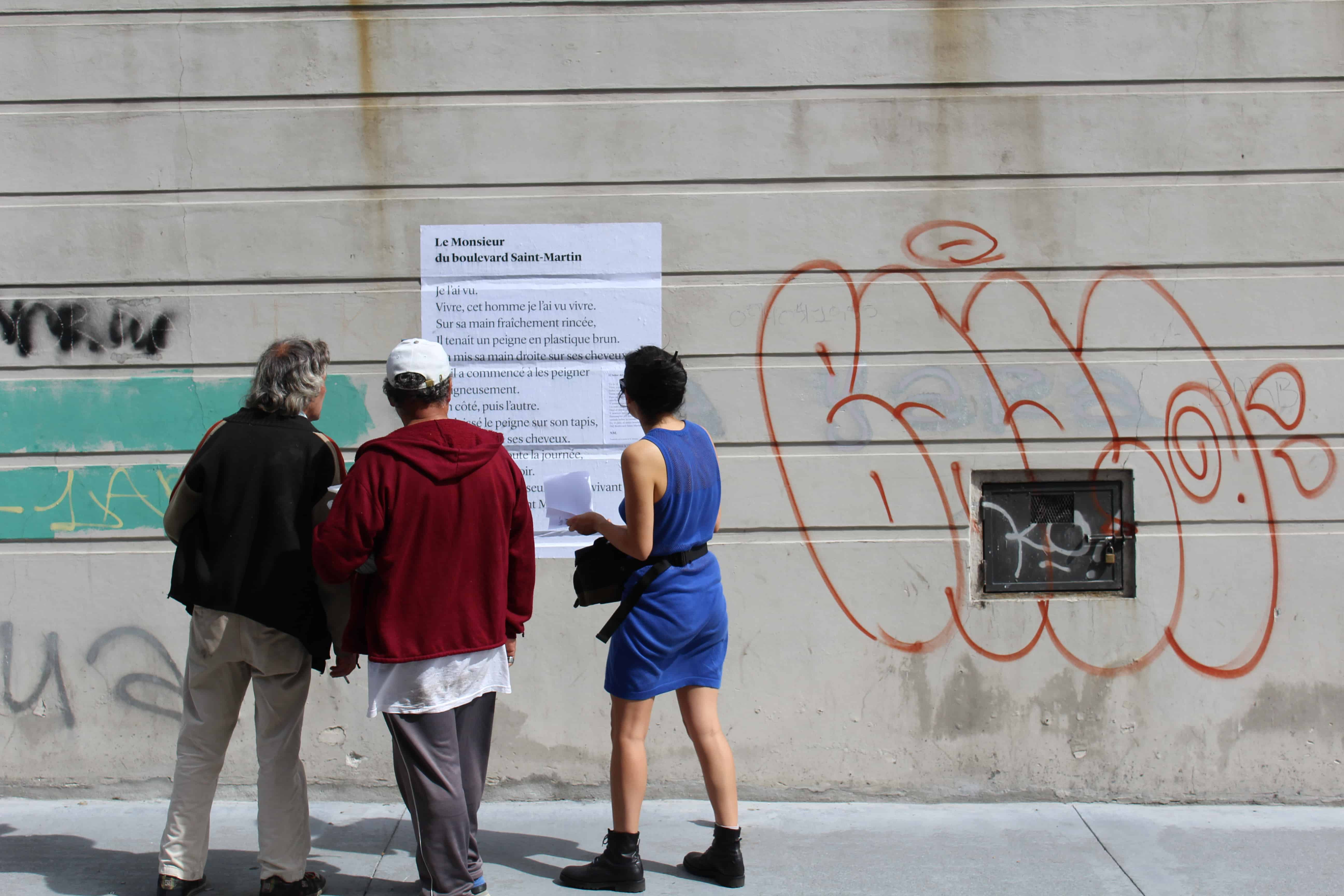 le monsieur du boulevard saint martin, poésie, poème, nathalie man, montevideo