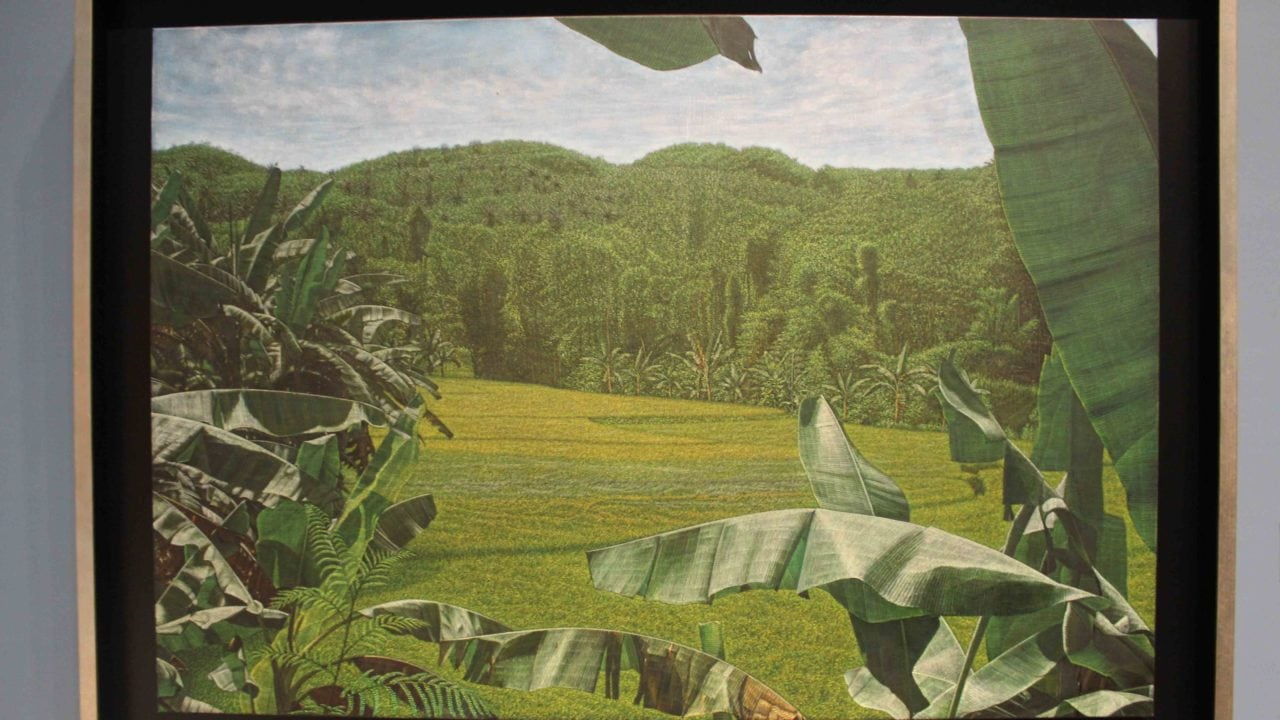 a painting in tainan art museum