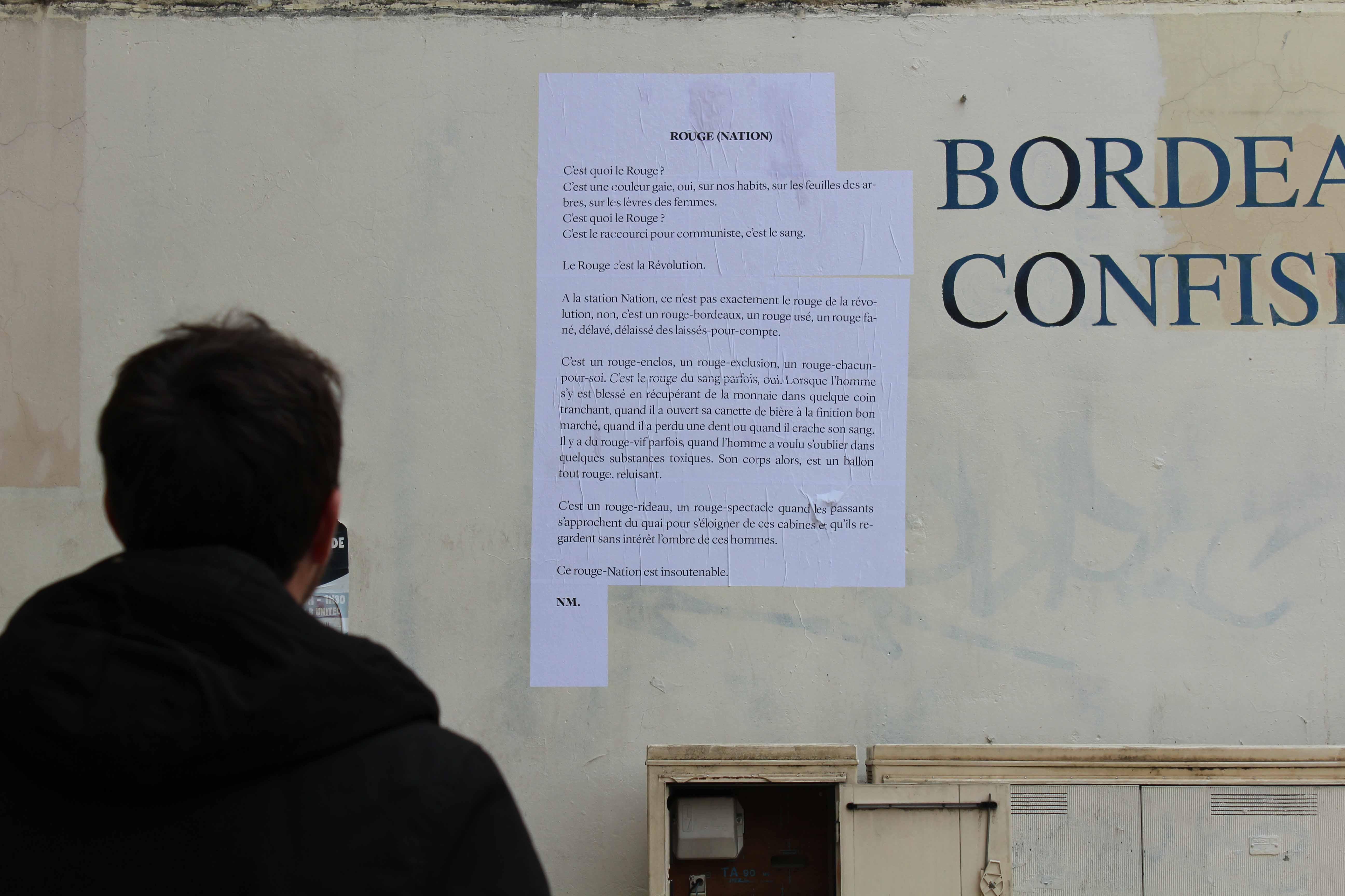collage pour le festival bienvenue mobilisation pour les réfugiés