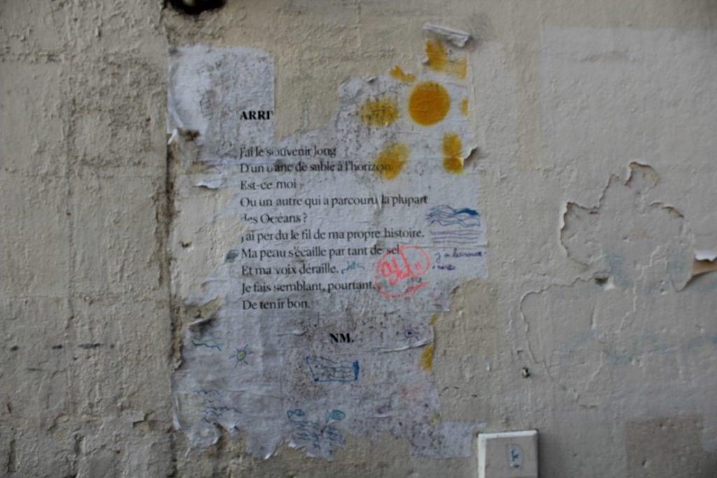 rue canihac bordeaux poème