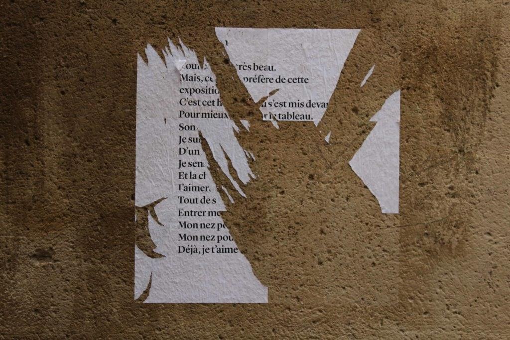 exposition, poèmes de rue, nathalie man
