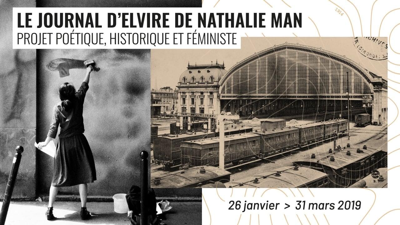 le journal d'elvire, nathalie man, gare, féminisme, poésie, histoire