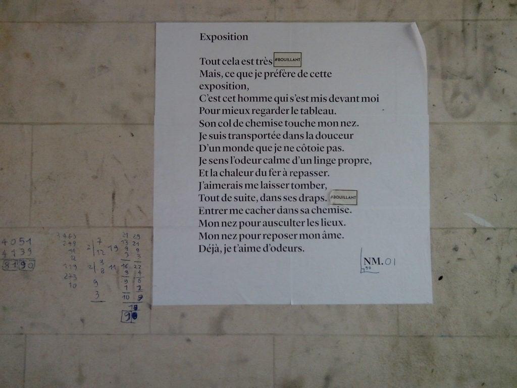 exposition, poésie, nathalieman