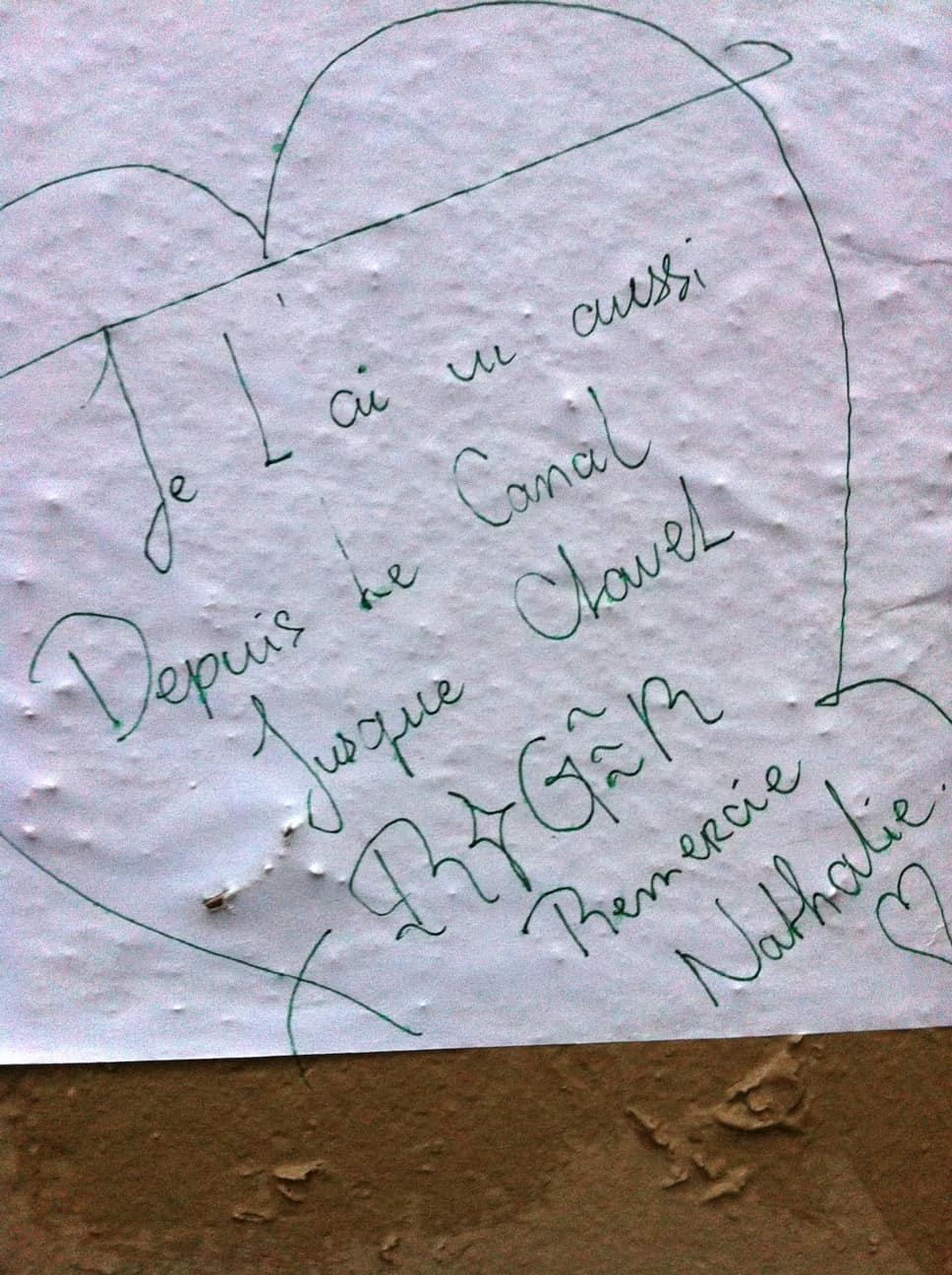 Le monsieur du boulevard saint martin, nathalieman, paris, poesie