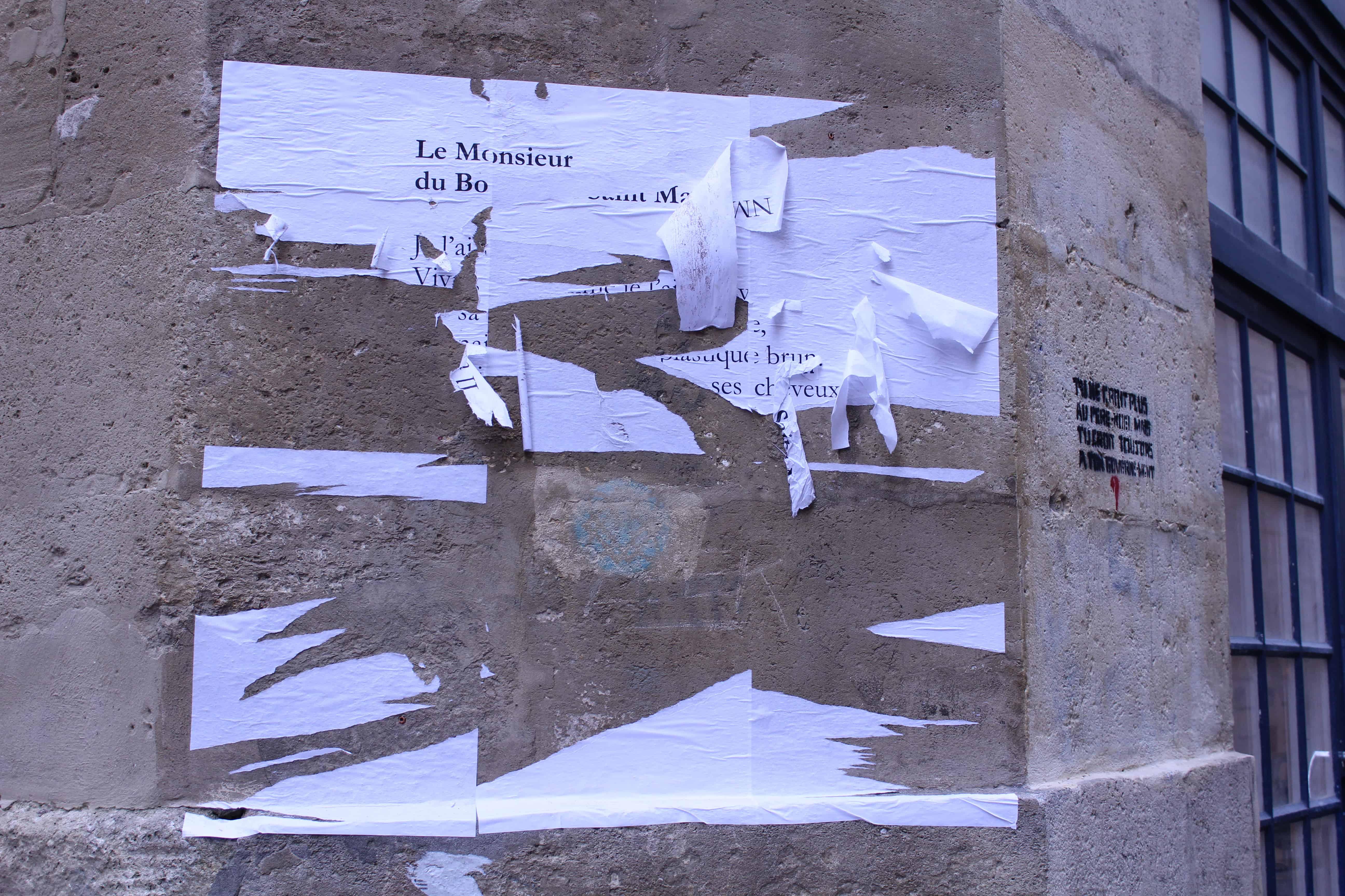 le monsieur du boulevard saint martin, poème, nathalie man, bordeaux