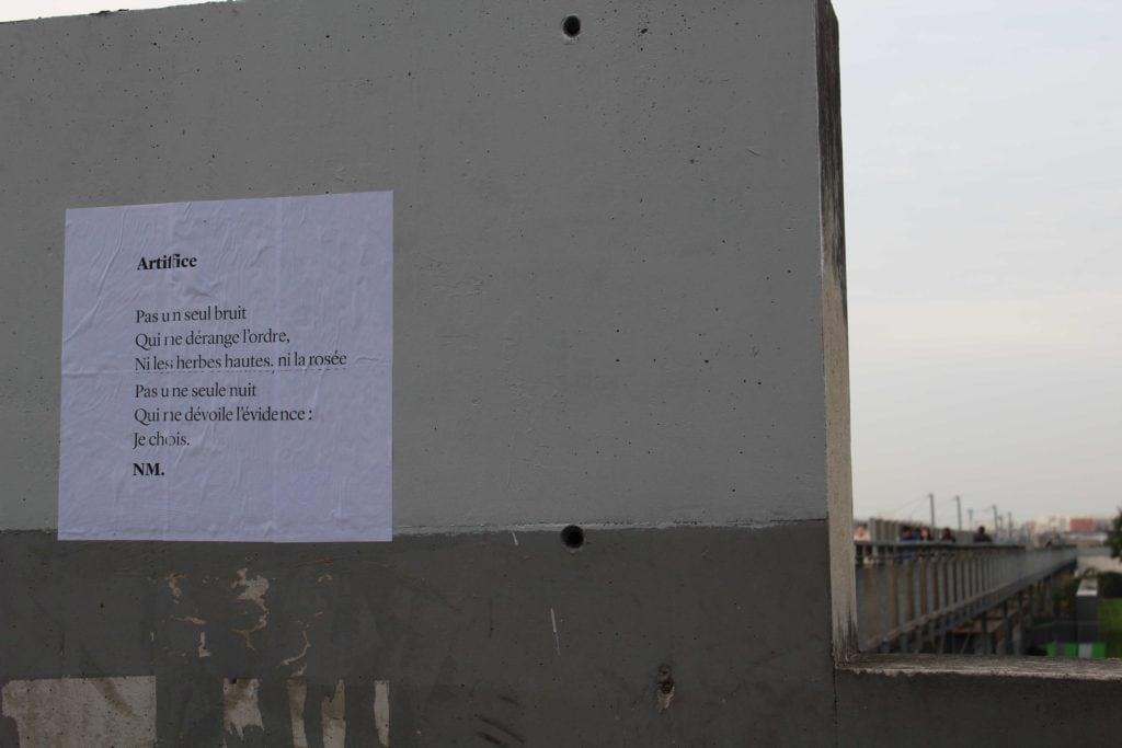artifice rue du département paris 18 nathalie man poème