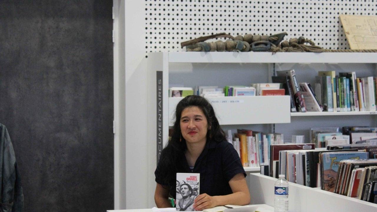 Nathalie Man lit George Orwell