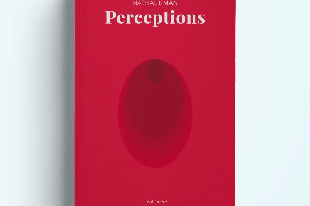 couverture de perceptions le dernier livre de nathalie man
