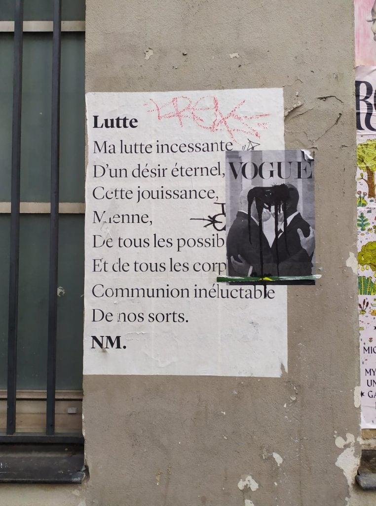lutte poesie nmpoetesse streetart nathalieman paris placedelabastille